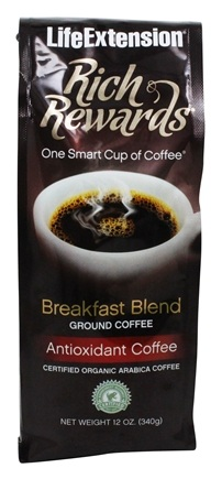 Life Extension - Rich Rewards Breakfast Blend Ground Coffee - 12 oz.