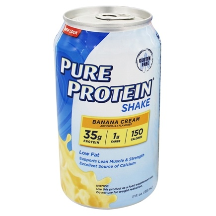 DROPPED: Pure Protein - Shake Banana Cream - 11 oz.