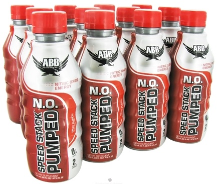 DROPPED: ABB Performance - Speed Stack Pumped NO Nitric Oxide Energy Fruit Punch - 22 oz. CLEARANCE PRICED