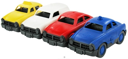 DROPPED: Green Toys - Mini Vehicle Set Ages 1+ - 4 Pack