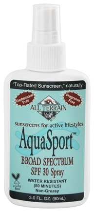 All Terrain - AquaSport Spray 30 SPF - 3 oz.