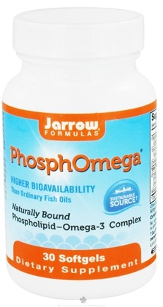 DROPPED: Jarrow Formulas - PhosphOmega - 30 Softgels CLEARANCE PRICED