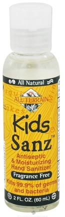 DROPPED: All Terrain - Kids Sanz Antiseptic & Moisturizing Hand Sanitizer Fragrance Free - 2 oz.