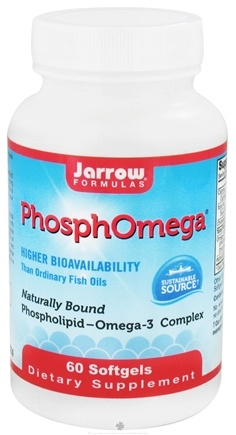 DROPPED: Jarrow Formulas - PhosphOmega - 60 Softgels