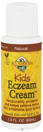 DROPPED: All Terrain - Kids Eczema Cream - 2 oz. CLEARANCE PRICED