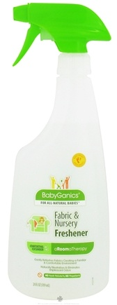 DROPPED: BabyGanics - Fabric & Nursery Freshener aRoomaTherapy Comforting Cucumber - 24 oz. CLEARANCE PRICED