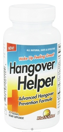 DROPPED: Rise-N-Shine - Hangover Helper - 30 Tablets