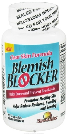 DROPPED: Rise-N-Shine - Blemish Blocker - 60 Capsules