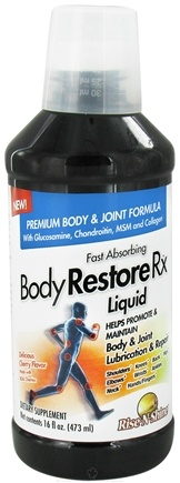 DROPPED: Rise-N-Shine - Body Restore Rx Fast Acting Liquid Cherry - 16 oz.