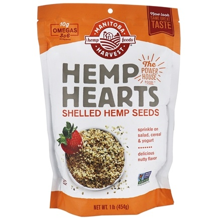 Manitoba Harvest - Hemp Hearts Natural Raw Shelled Hemp Seed - 1 lb.