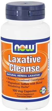 DROPPED: NOW Foods - Laxative Cleanse - 100 Vegetarian Capsules