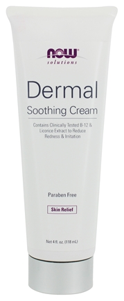 DROPPED: NOW Foods - Dermal Soothing Cream - 4 oz. CLEARANCE PRICED