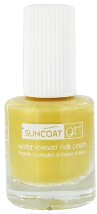 DROPPED: Suncoat - Girl Water-Based Nail Polish Sunflower - 0.27 oz. CLEARANCE PRICED
