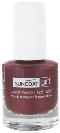 DROPPED: Suncoat - Girl Water-Based Nail Polish Majestic Purple - 0.27 oz. CLEARANCE PRICED
