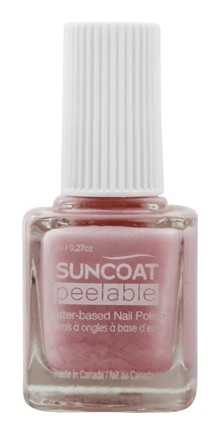 DROPPED: Suncoat - Polish & Peel Water-Based Nail Polish Petal Blush - 0.27 oz.