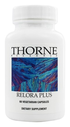 Thorne Research - Relora Plus - 60 Vegetarian Capsules