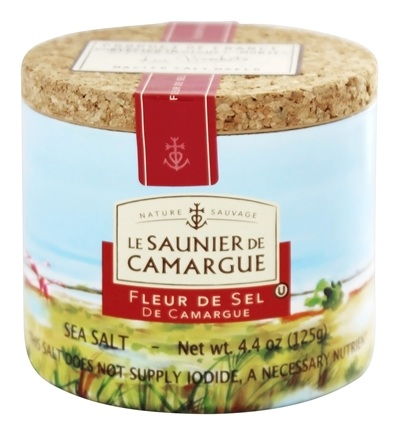 DROPPED: Le Saunier De Camargue - Fleur De Sel Sea Salt - 4.4 oz.