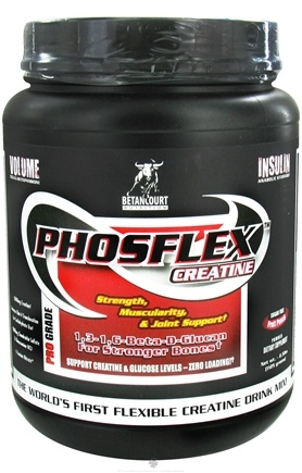DROPPED: Betancourt Nutrition - Phosflex Creatine Pro Grade Fruit Punch - 2.5 lbs. CLEARANCE PRICED