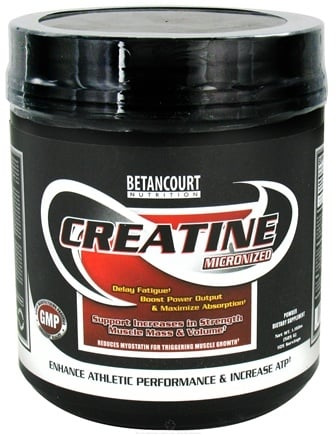 DROPPED: Betancourt Nutrition - Creatine Micronized Unflavored - 1.16 lbs. CLEARANCE PRICED