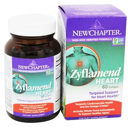 New Chapter - Zyflamend Heart - 60 Softgels