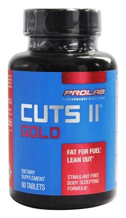 DROPPED: Prolab Nutrition - Cuts II Gold - 90 Tablets CLEARANCE PRICED