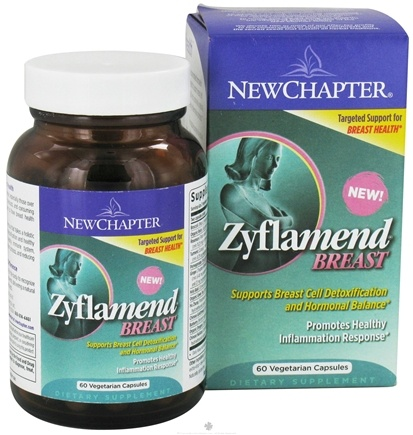 DROPPED: New Chapter - Zyflamend Breast - 60 Vegetarian Capsules