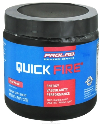 DROPPED: Prolab Nutrition - Quick Fire Fruit Punch - 130 Grams