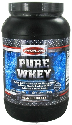 DROPPED: Prolab Nutrition - Whey Protein Isolate Milk Chocolate - 2 lbs.