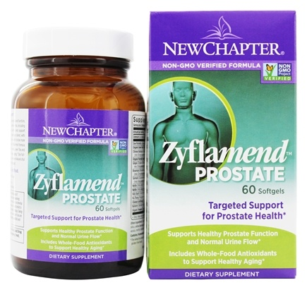 DROPPED: New Chapter - Zyflamend Prostate - 60 Softgels