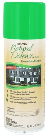 DROPPED: Sergeant's Pet Care - Sentry Natural Defense Household Spray Orange Fragrance - 12 oz. CLEARANCE PRICED