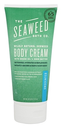 The Seaweed Bath Co. - Wildly Natural Seaweed Body Cream Unscented - 6 oz.