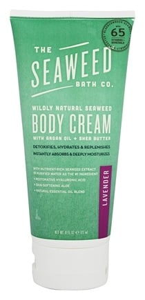 Seaweed Bath Company - Wildly Natural Seaweed Body Cream Lavender Scent - 6 oz.
