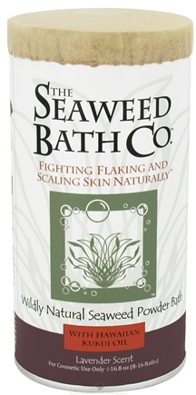 DROPPED: Seaweed Bath Company - Wildly Natural Seaweed Powder Bath with Hawaiian Kukui Oil Lavender Scent - 16.8 oz. (8-16 Baths)