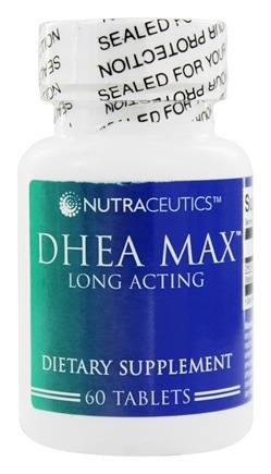 DROPPED: Nutraceutics - DHEA Max Long Acting 25 mg. - 60 Tablets