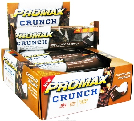 DROPPED: Promax - Crunch Bar Chocolate Coconut - 2.29 oz. CLEARANCE PRICED