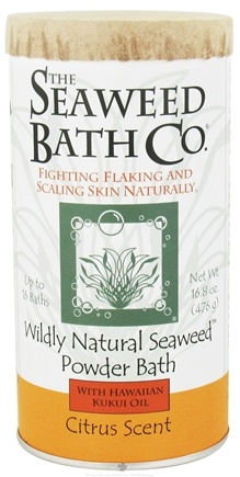 Seaweed Bath Company - Wildly Natural Seaweed Powder Bath Citrus Scent - 16.8 oz.