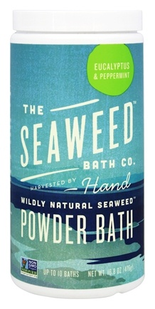 Seaweed Bath Company - Wildly Natural Seaweed Powder Bath Eucalyptus & Peppermint - 16.8 oz.
