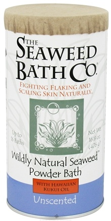 DROPPED: Seaweed Bath Company - Wildly Natural Seaweed Powder Bath with Hawaiian Kukui Oil Unscented - 16.8 oz. (8-16 Baths)
