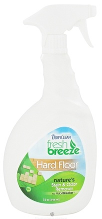 DROPPED: Tropiclean - Fresh Breeze Hard Floor Stain & Odor Remover - 32 oz. CLEARANCE PRICED