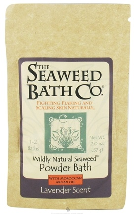 DROPPED: The Seaweed Bath Co. - Wildly Natural Seaweed Powder Bath with Hawaiian Kukui Oil Lavender Scent - 2 oz. CLEARANCE PRICED