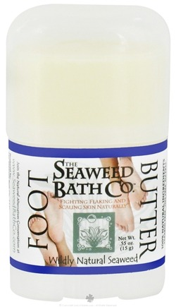DROPPED: Seaweed Bath Company - Wildly Natural Seaweed Foot Butter - 0.55 oz. Travel Size/ CLEARANCE PRICED