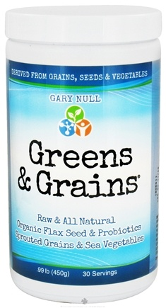 DROPPED: Gary Null's - Greens and Grains 60 Servings - 450 Grams