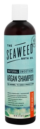 The Seaweed Bath Co. - Natural Smoothing Argan Shampo Citrus Scent - 12 oz.