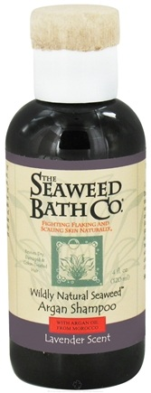 DROPPED: Seaweed Bath Company - Wildly Natural Seaweed Argan Shampoo with Argan Oil From Morocco Lavender Scent - 4 oz. Travel Size/ CLEARANCE PRICED