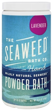 Seaweed Bath Company - Wildly Natural Seaweed Powder Bath with Argan Oil Lavender Scent - 16.8 oz. (8-16 Baths)