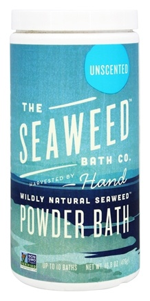 Seaweed Bath Company - Wildly Natural Seaweed Powder Bath Unscented - 16.8 oz.