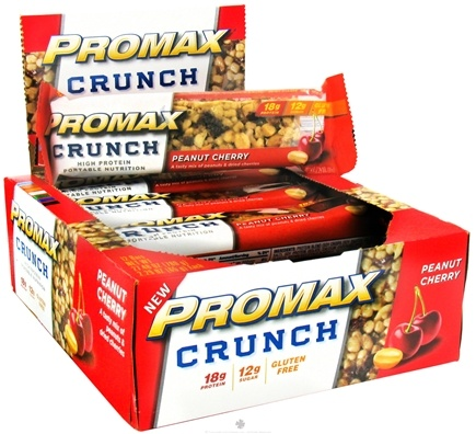 DROPPED: Promax - Crunch Bar Peanut Cherry - 2.29 oz. CLEARANCE PRICED