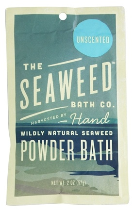 DROPPED: The Seaweed Bath Co. - Wildly Natural Seaweed Powder Bath with Moroccan Argan Oil Unscented - 2 oz.
