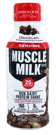 Cytosport - Muscle Milk RTD Protein Nutrition Shake Chocolate - 14 oz.