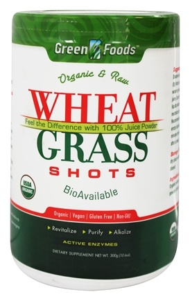 DROPPED: Green Foods - Wheat Grass Shots Organic and Raw - 10.6 oz.